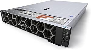 Dell EMC PowerEdge R740xd Server 24B SFF, 2X Intel Xeon Gold 6126 up to 3.7GHz (24-cores Total), 384GB DDR4, 2X 120GB M.2, PERC HBA330 12GB/s, 2X 10Gb + 2X 1Gb, Rails, No Operating System (Renewed)