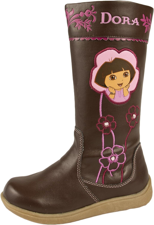 Girls Official Dora The Explorer Slippers UK Infant Size 6,7,8,9,10 UK Kid 11,12