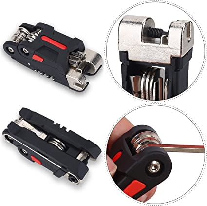 Multi-Function Bicycle Tyre Bike Cycling Mechanic Repair Bag Lever Wrench Tool