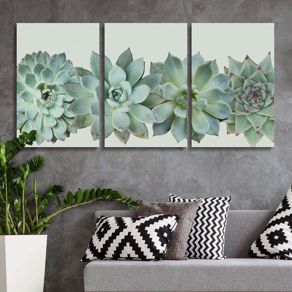 Succulent Living Room