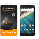 Supershieldz LG (Google) Nexus 5X Tempered Glass Screen Protector, Ballistic Glass 0.3mm 9H Hardness Anti-Scratch, Anti-Fingerprint, Bubble Free -Retail Packaging