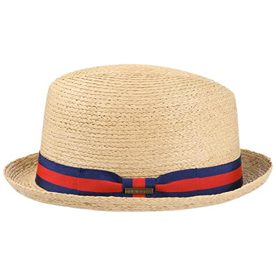1563307bf216db Stetson Renton Raffia Straw Hat Summer Beach (L (58-59 cm) - Nature): Amazon .co.uk: Clothing