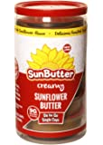 SunButter Sunflower Butter To Go Cups (Creamy, 1.5 oz. Cups Pack of 6)