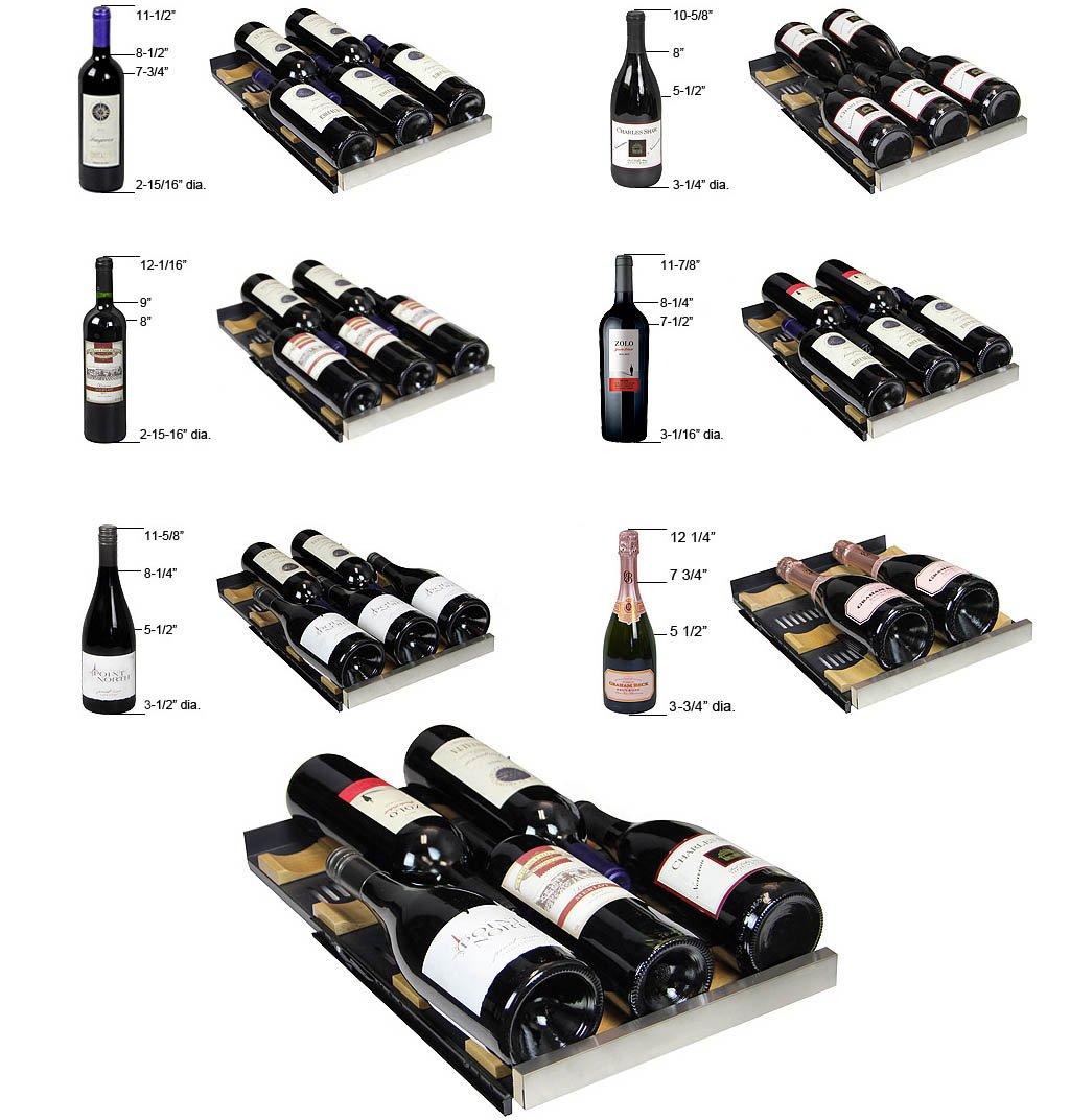 Allavino 3Z-VSWB15-2SST FlexCount Series Wine & Beverage Center