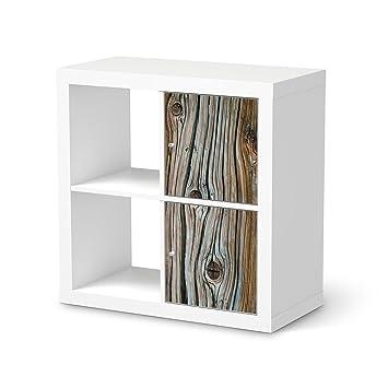 Möbelfolie Für Ikea Kallax Regal 2 Türelemente Hochformat I