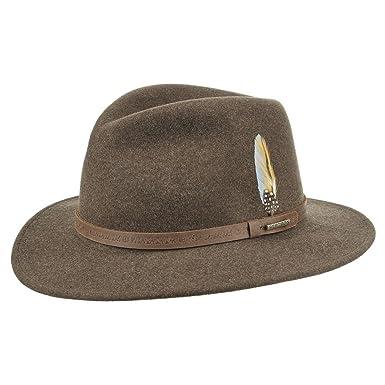 6d4f628108a Stetson Vacaville VitaFelt Hat felt hats outdoor hats (XXL 62-63 - brown)   Amazon.co.uk  Clothing