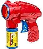 Idena 40020 - Seifenblasenpistole Inklusive Seifenblasenlösung, 53 ml, rot