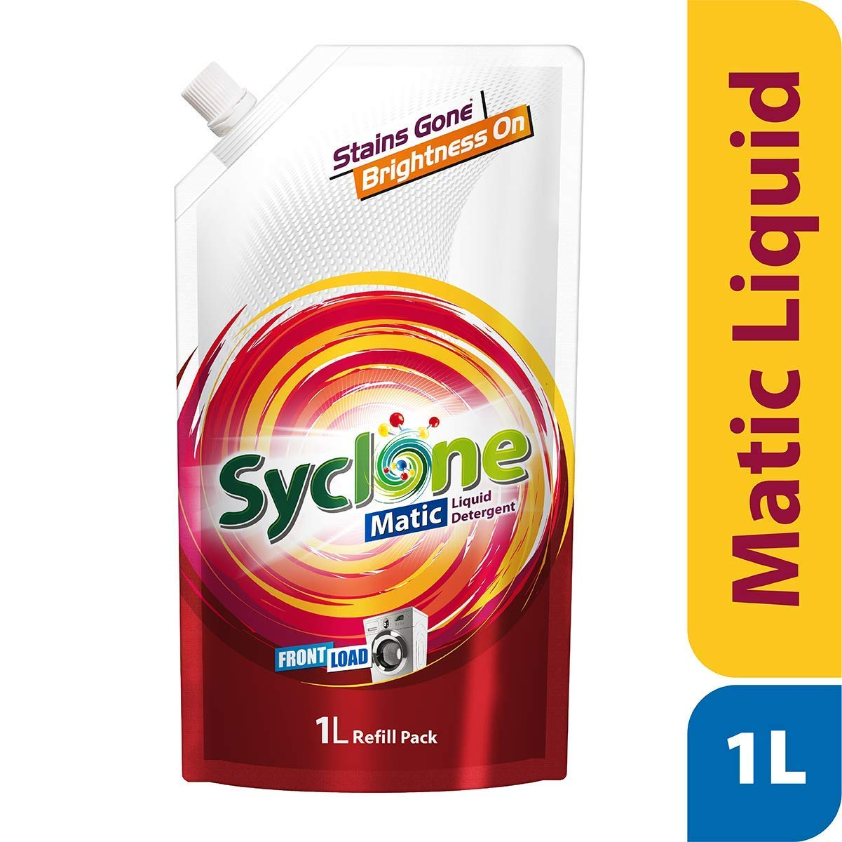 [Pantry] Syclone Matic Front Load liquid Detergent (refill), 1 ltr