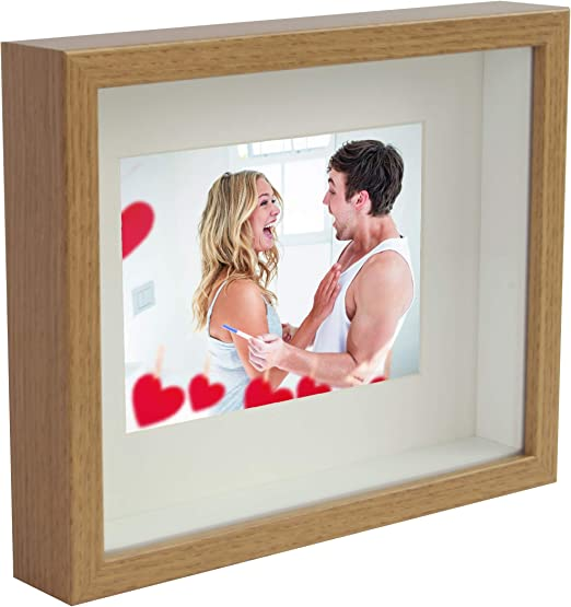 Amazon Com Bd Art 8x10 20 X 25 X 4 7 Cm Oak Shadow Box 3d
