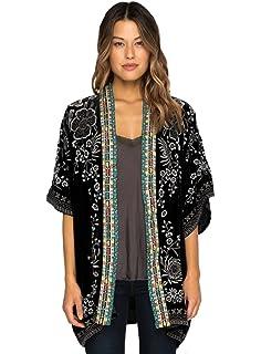 bab68a1a5 Johnny Was Fusai Velvet Kimono - C44418 at Amazon Women's Clothing ...
