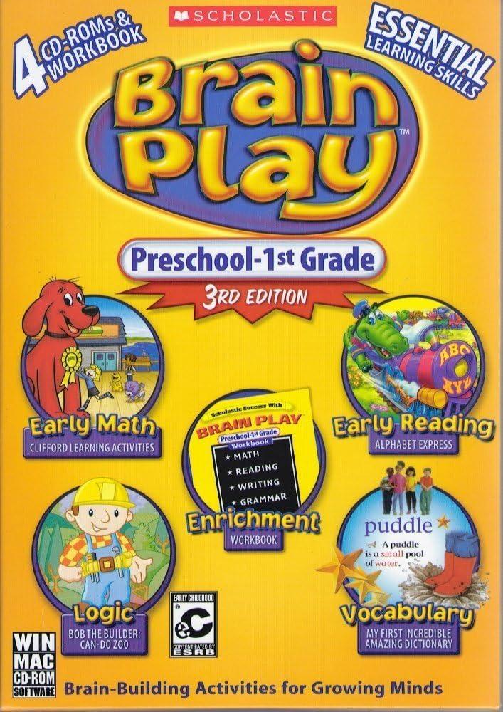 B004H47H9M Brain Play Preschool - 1st Grade, 3rd Edition 71tluUBBfyL