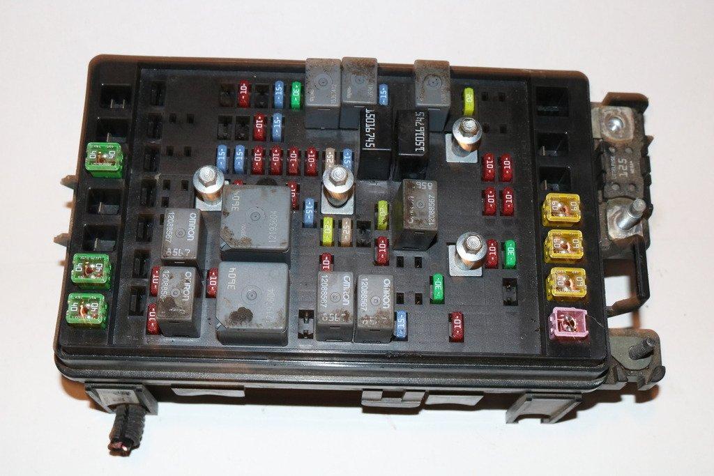 06-06 GMC Envoy Rainer Trailblazer SSR 4.2L Relay Fuse Box ... on
