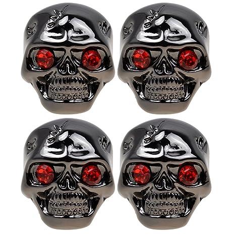 Kmise guitarra eléctrica tono botones de Control de volumen para Gibson Les Paul de calavera negro