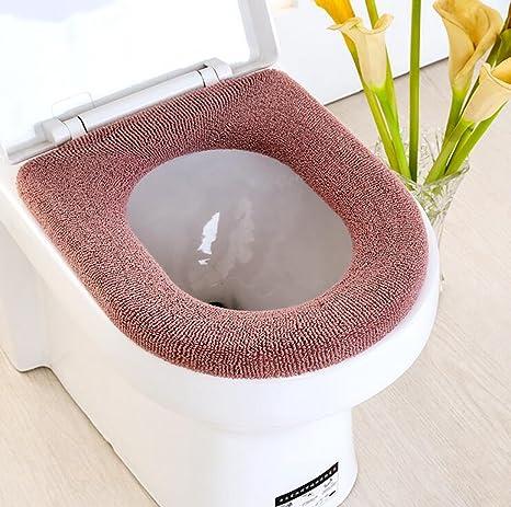 Gquan Almohadilla de wc Más gruesa, wc cojín del asiento ...