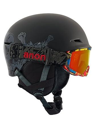 Anon Niños Define EU Snowboard Casco, otoño/Invierno, Infantil, Color Suckapunch Black