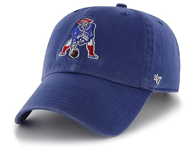60f6cf67f Image Unavailable. Image not available for. Color   47 Brand. New England  Patriots Clean Up Cap ...