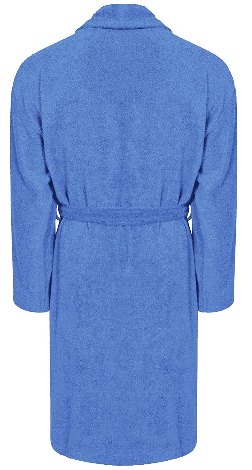 Adore Home Mens and Ladies 100% Cotton Terry Toweling Shawl Collar ...
