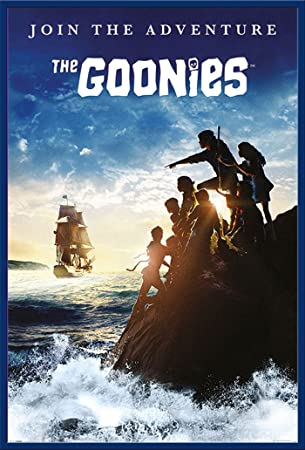 The Goonies - Join The Adventure - Film Movie Poster Plakat Druck ...