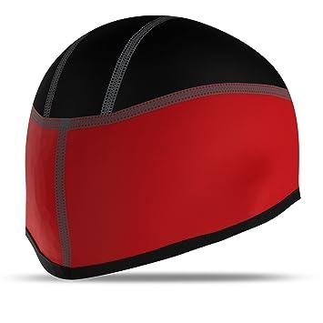 e1f30a80e7b Cycling Beanie Cycle Helmet Cap Thermal Running Hat Skull Cap Head Warmer