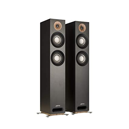Jamo Studio Series S 807-BLK Black Floorstanding Speakers - Pair