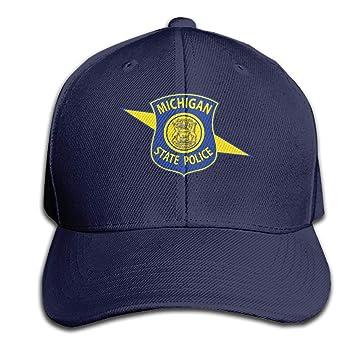 LouisBerry Logotipo de la policía del Estado de Michigan Gorra ...