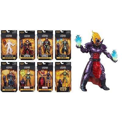 Marvel Legends Series Doctor Strange 6 Inch Action Figures Complete Set of 8: Toys & Games