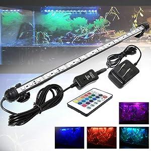 Mingdak multi-color LED light aquarium kit