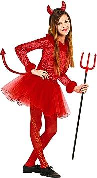 WIDMANN Disfraz de demonio para niña: Amazon.es: Juguetes y ...