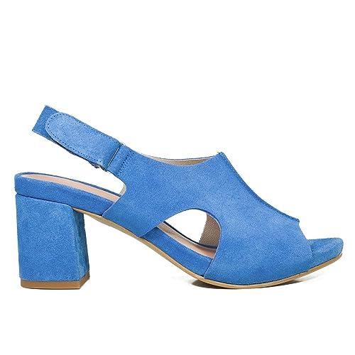 otra oportunidad nuevos productos para promoción Zapatos miMaO. Zapatos Piel Mujer Hechos EN ESPAÑA. Zueco Tacón Mujer.  Zuecos Verano. Zapatos Mujer Cómodos con Plantilla Confort Gel