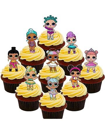 Made4You LOL - Paquete de decoración Comestible para Tartas, diseño de muñecos Sorpresa