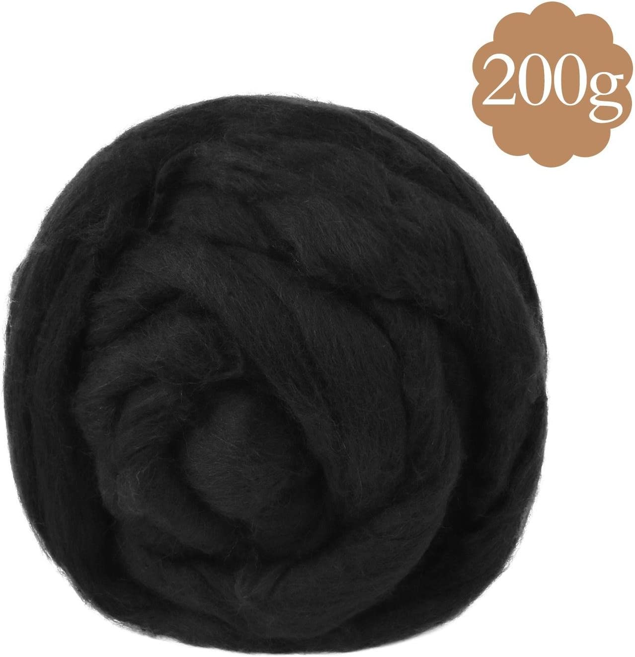 Soledi® Natural lana itinerantes Top Roving Cable de Spin ...
