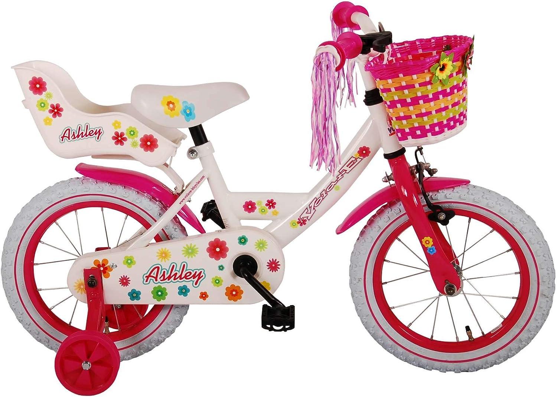 L&E & E 14 Pulgadas Bicicleta contrapedal ruedines Cesta Bicicleta ...
