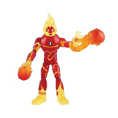 Ben 10 Heatblast Action Figure: Toys & Games