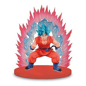 Banpresto Dragon Ball Super Kaioken Blue Ssgss Goku Figur Mit