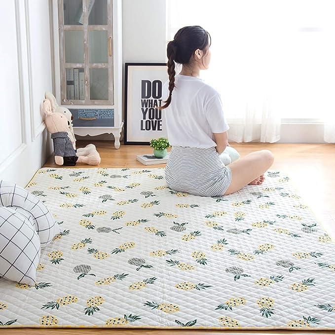 YYLLDP Lavable/tapete,tapetes para niños,Plegable/algodón para ...