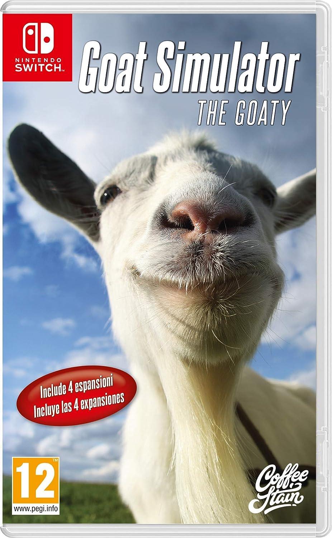 Goat Simulator: The Goaty - Bundle - Nintendo Switch [Importación ...