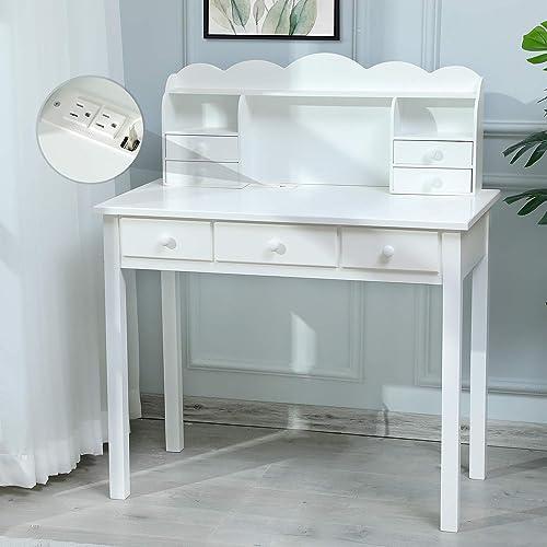 ADORNEVE White Desk