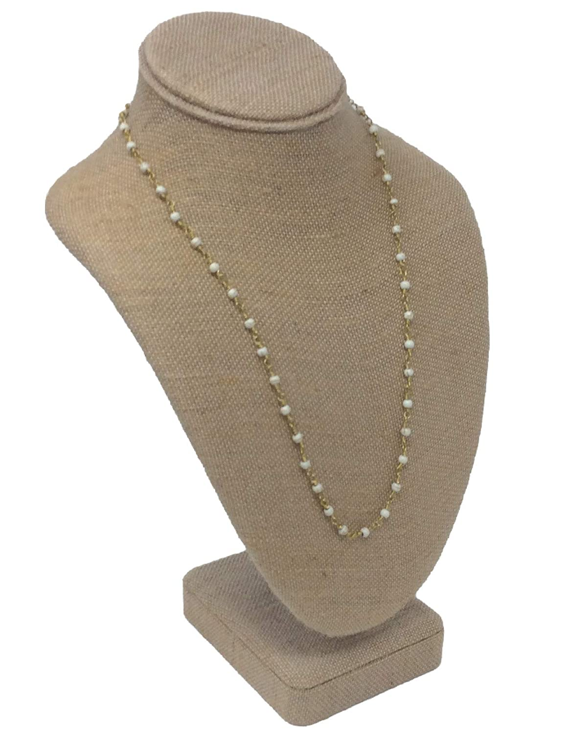Raw and Rebellious Limitless 22 Inch Layering Necklace Cream