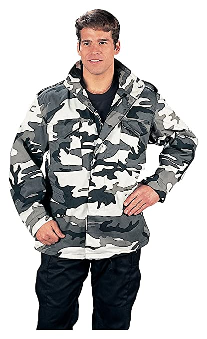 b53a6f9f9c226 Amazon.com: Rothco M-65 Field Jacket - City Camo: Sports & Outdoors