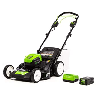 Greenworks PRO MO80L510 Self-Propelled Lawn Mowe