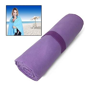 Itian Toallas Deportivas Microfibra Super Absorbente Secado Rápido Antibacteriano, Toalla para Gimnasio o Toalla para Viajar, Toalla para Yoga, ...