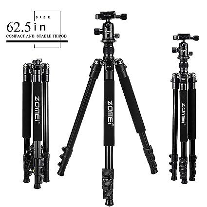 Zomei Q555 Trípode para cámara de aleación de Aluminio Ligero con ...