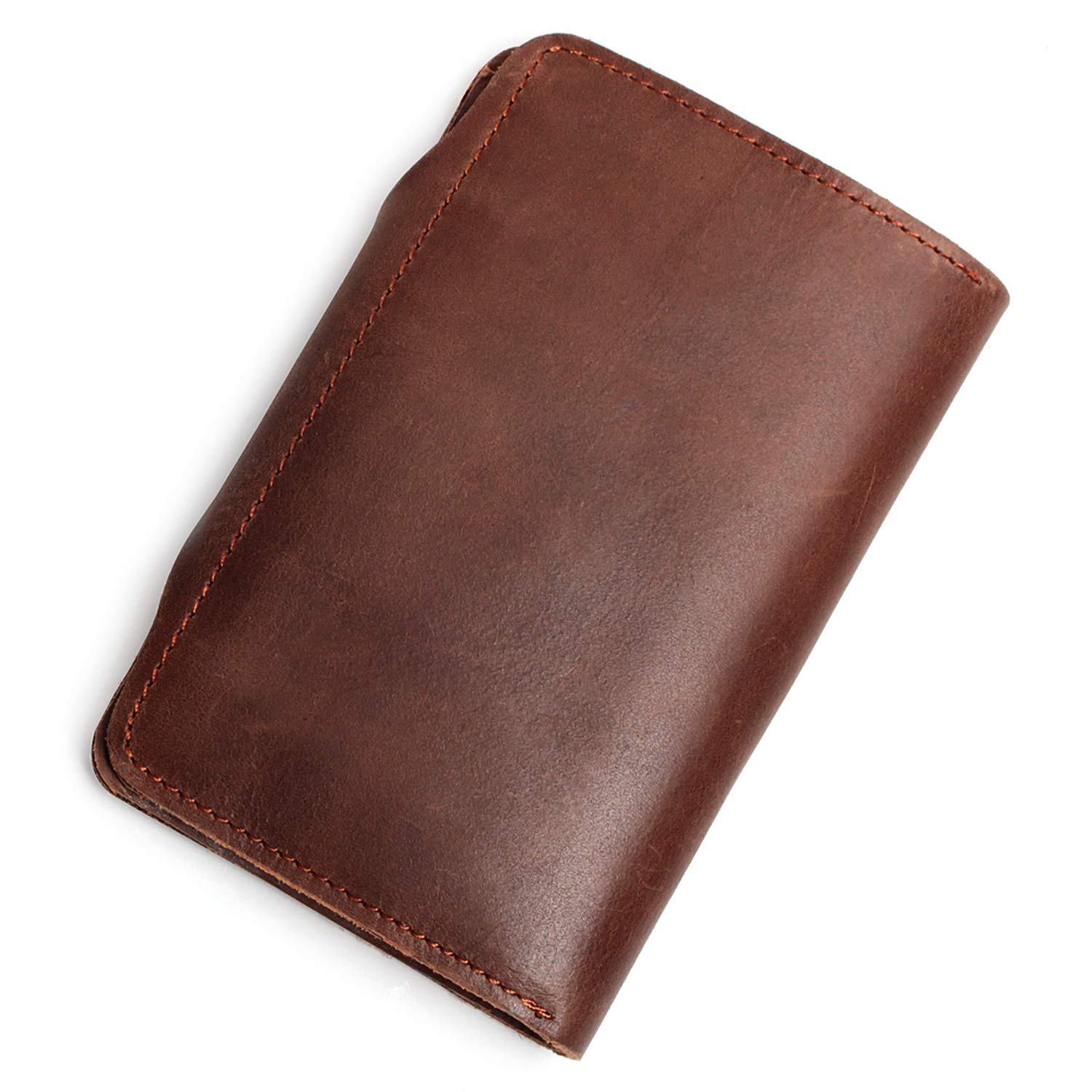 The First Layer Cowhide Wallet Mens Multi-Function Long-Distance Travel Wallet Skin Multi-Card Fashion Mens Retro