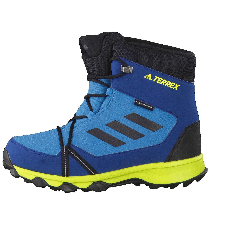 4f7b929049cbe adidas Unisex-Kinder Terrex Snow Cp Cw K Trekking- & Wanderstiefel blau:  Amazon.de: Schuhe & Handtaschen