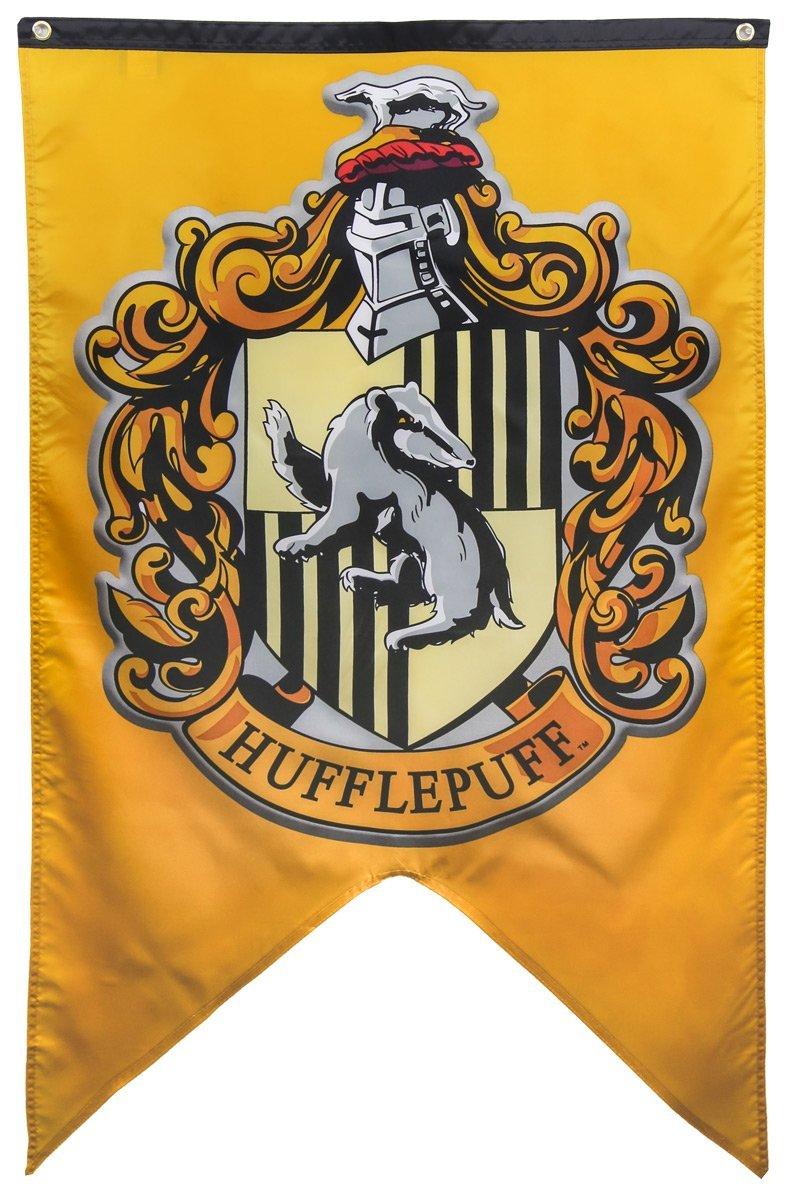 Calhoun Harry Potter Hogwarts House Wall Banner (30'' by 50'') (Hufflepuff)
