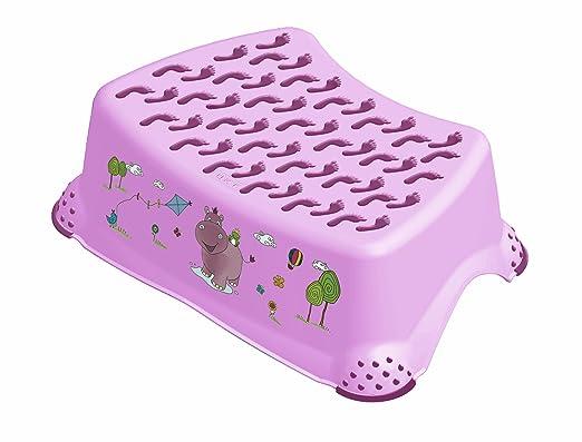 3 opinioni per Pedana scalino antiscivolo per bambini HIPPO di OKT colore: lilla