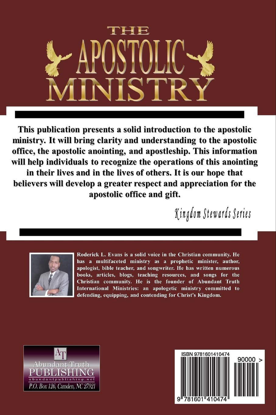 The Apostolic Ministry: Exploring The Apostolic Office And Gift: Roderick  L. Evans: 9781601410474: Amazon.com: Books