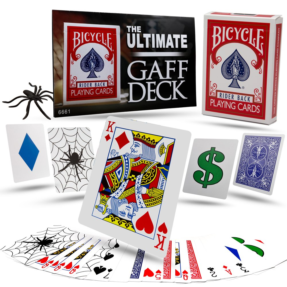 Magic Makers Ultimate Gaff Deck Tricks in Bicycle by Magic Makers