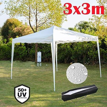 3x3m wasserdichte Outdoor Garten Pavillon Festzelt Baldachin Camping Supplies