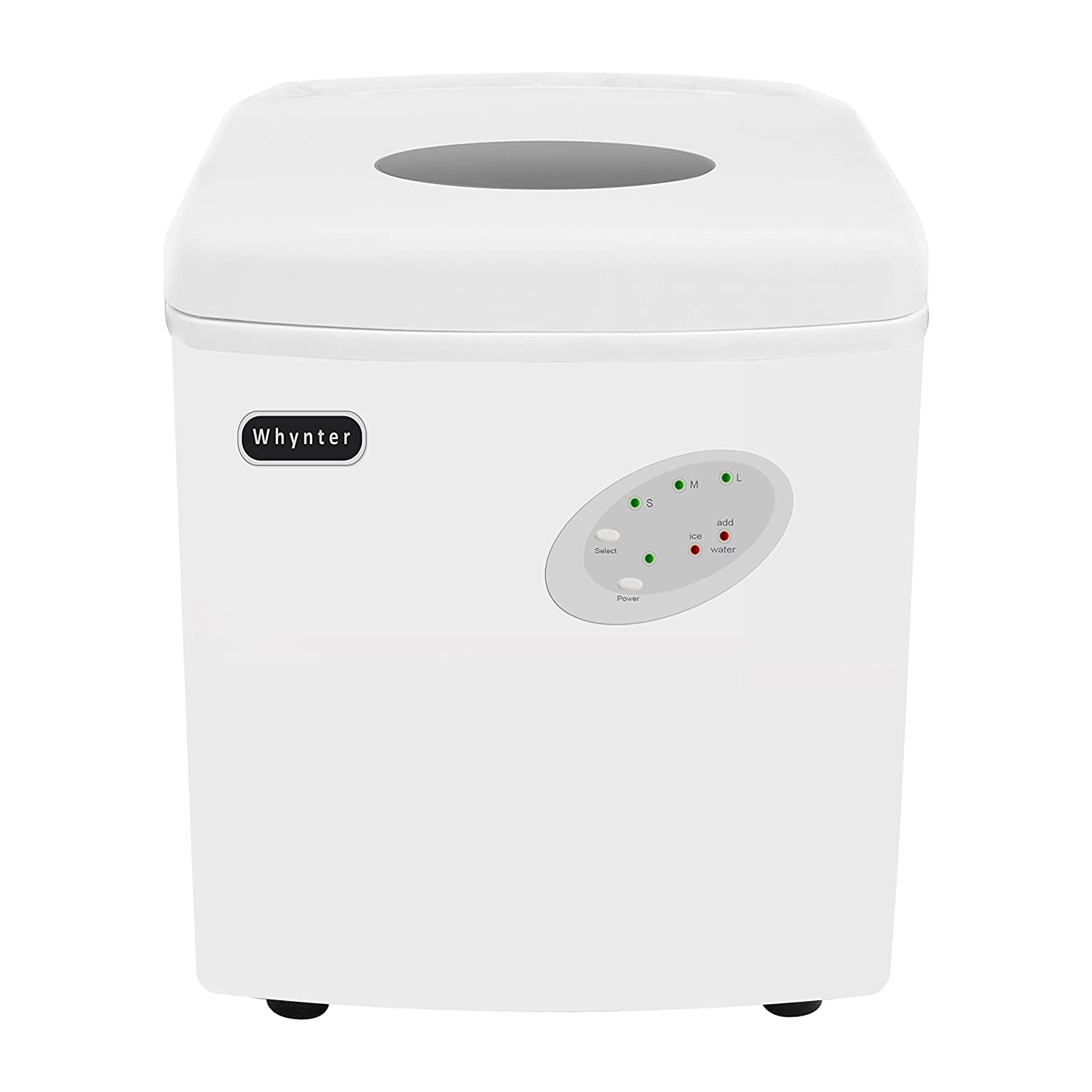 Whynter IMC-330WS Portable 33 lb Capacity-White Ice Makers, One Size,